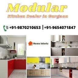 Indian Modern Modular Kitchen Dealer in GurgaonHomeinteria